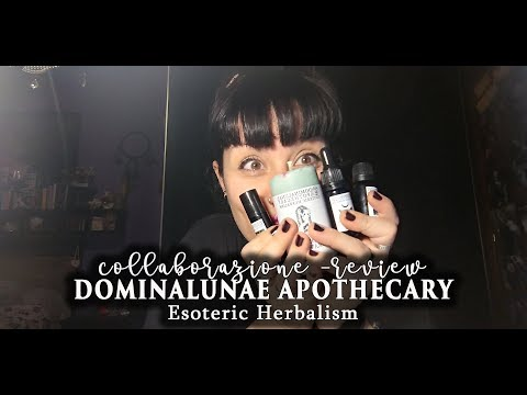 🌿 DOMINALUNAE APOTHECARY Esoteric Herbalism || Collab. Review Haul