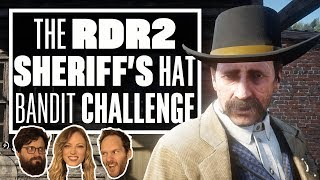 The Red Dead Redemption 2 Bandit Challenge - STEALING SHERIFF MALLOY'S HAT!