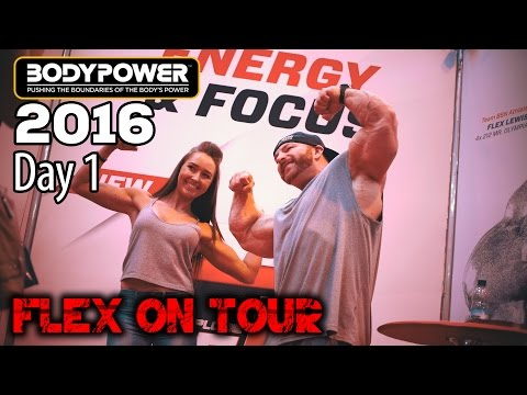 BodyPower 2016 - Flex On Tour - Expo Day 1