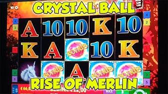 Crystal Ball, Rise of Merlin FREISPIELE auf 1€ -  Online Spielothek - Merkur Magie, Novoline HD