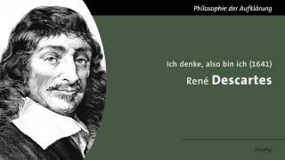 René Descartes - Ich denke also bin ich (Lesung)