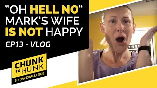 Mark's Wife Reveals Her Feelings About the #ChunkToHunkChallenge | EP 13 #WeDoHardThings