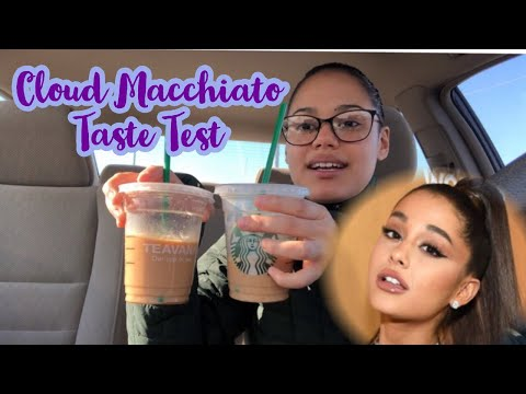 STARBUCKS CLOUD MACCHIATO TASTE TEST And REVIEW