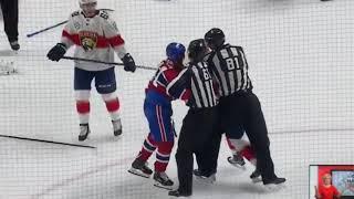 Byron vs Huberdeau fight