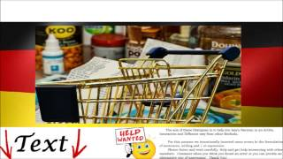 At shopping = Einkaufen - German Audio Video Conversation & Tests Free Online