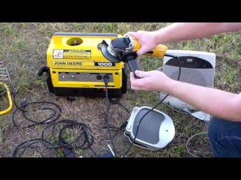 John Deere 1000 watt Generator Kawasaki GA1000