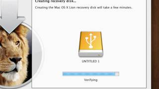 Make a Mac OS X Lion Recovery Disk