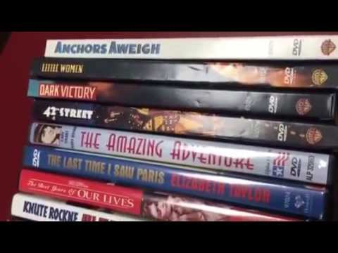45 classic DVDs movies