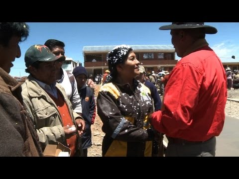 Bolivian woman mayor described as 'hope of Latin America'