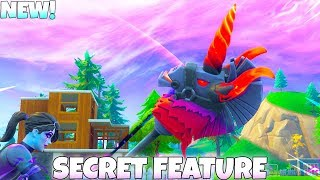 THUNDER CRASH Pickaxe SECRET FEATURE! Fortnite Battle Royale