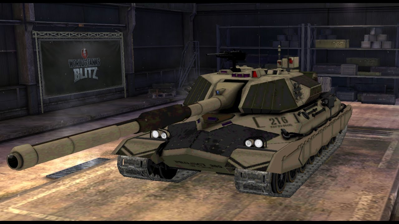WOT Blitz New IS-7 Camo (Mod)