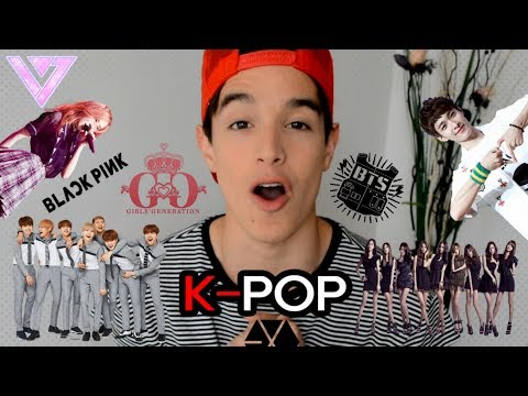 REACCIONANDO AL K-POP (EXO, BlackPink, BTS, Seventeen) | Andres Cardona