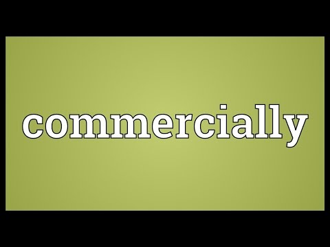 Commercially Meaning