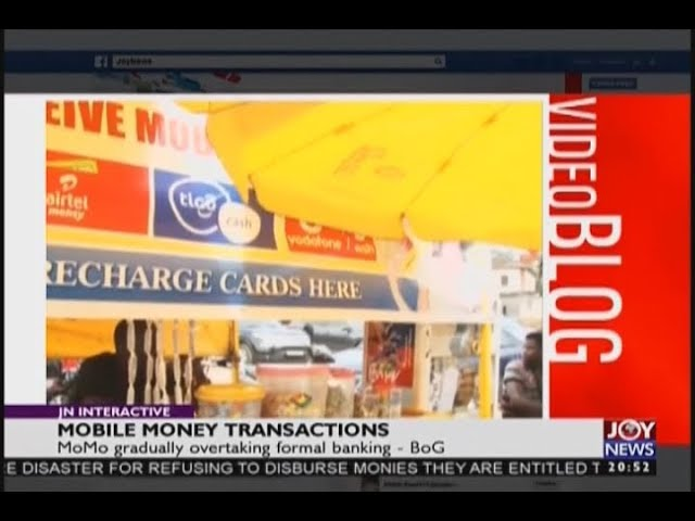 Mobile Money Transactions - Joy News Interactive (17-8-18)