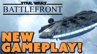 Star Wars Battlefront NEW GAMEPLAY! - The Know