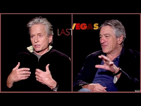 """It sucks getting old"" Michael Douglas and Robert De Niro explaining why..."