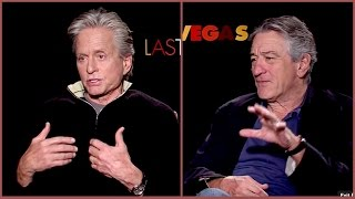 It sucks getting old... Douglas and De Niro explaining why...