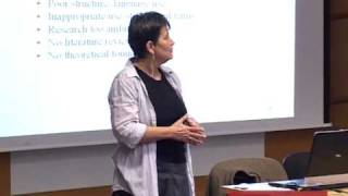 Writing a compelling research proposal - CEU's Eszter Timar tells you how(CEU writing instructor Eszter Timar laid out the basic elements of a research proposal to a group of prospective students at CEU's autumn open house., 2010-11-08T13:53:37.000Z)