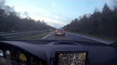 Porsche Panamera Turbo 317 km h on Kosovo highway  YouTube