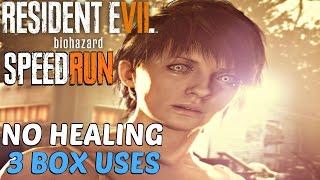 Resident Evil 7 - Speedrun Walkthrough (No Healing, 3 Box Uses) Resource Manager & Walk It Off GUIDE