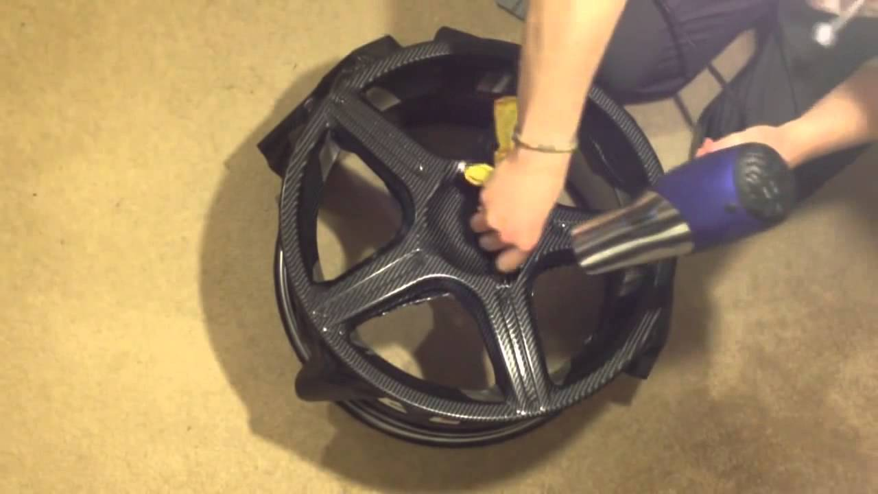 How To Carbon Fiber Vinyl Your Wheels Diy For Cheap N