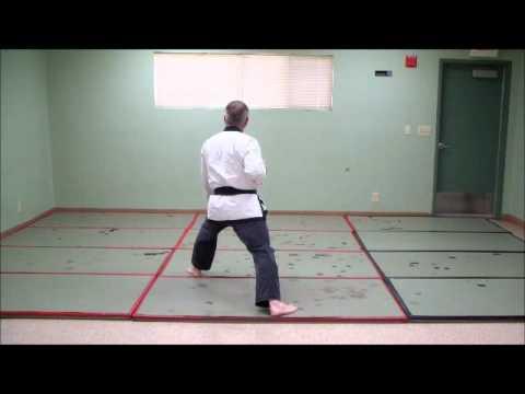 Tang Soo Do - KI CHO HYUNG IL BU - Basic Form # 1 - step by step