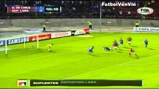 Copa Libertadores 2013. Universidad de Chile - Club Deportivo Lara