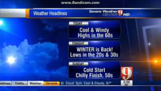 WFTV Channel 9 Eyewitness News Daybreak Open (2-16-13)