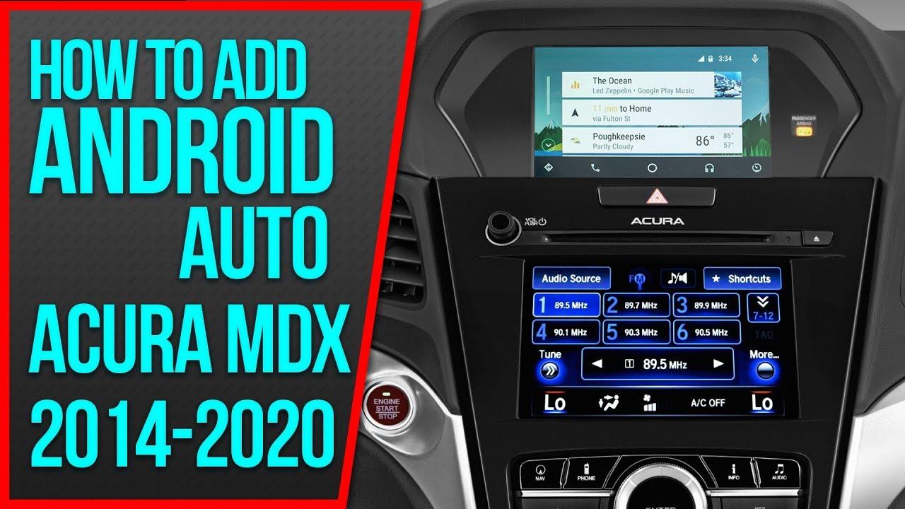 Navtool Acuralink Androidauto