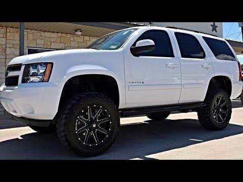 2008 Lifted Chevrolet Tahoe LS 4WD Rough Country Lift ...