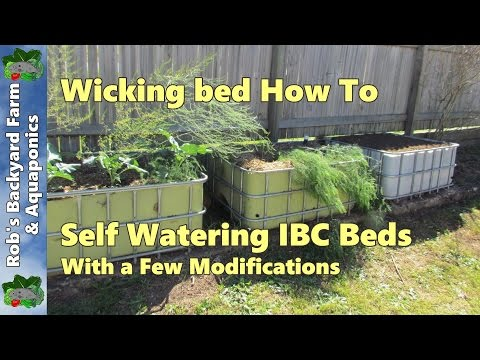 Self Watering Wicking Bed Ibc Beds
