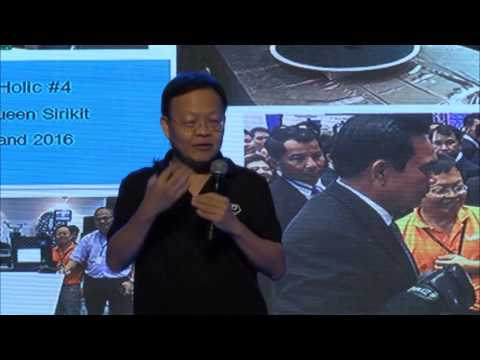 """The Maker Club"" - Creative Thailand Symposium 2016 - 21 October 2016/Kampol"