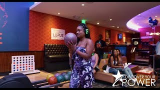 Discover Your Power® Lupus Bowl Fundraiser! 😊✋🏾💜🎳