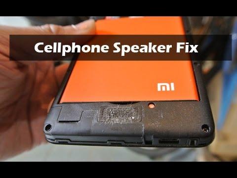 Mobile Cellphone Speaker Fix