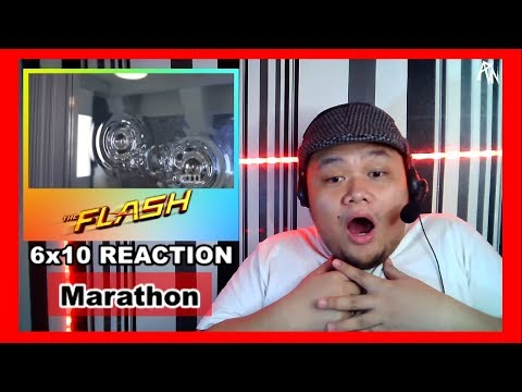 "The Flash 6x10 "" Marathon "" Reaction"