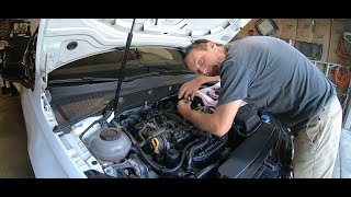 homepage tile video photo for 2018 VW GTI SE Ep.386: Changing 30k Mile Stock Spark Plugs To RS7 Spark Plugs