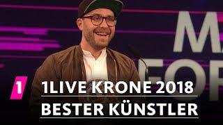 "Mark Forster ist der ""Beste Künstler"" | 1LIVE Krone 2018"