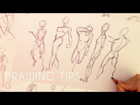 How To Improve Your Drawing Skills: Quick Poses // Emma Maree