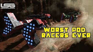 Space Engineers - The Worst Pod Racers Ever, Star Wars Race Track