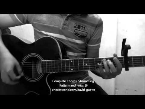 Titanium Chords by David Guetta - How To Play - chordsworld.com