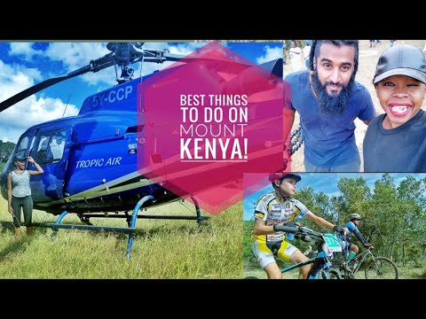 BEST THINGS TO DO ON MOUNT KENYA!/ TRAVEL VLOG.
