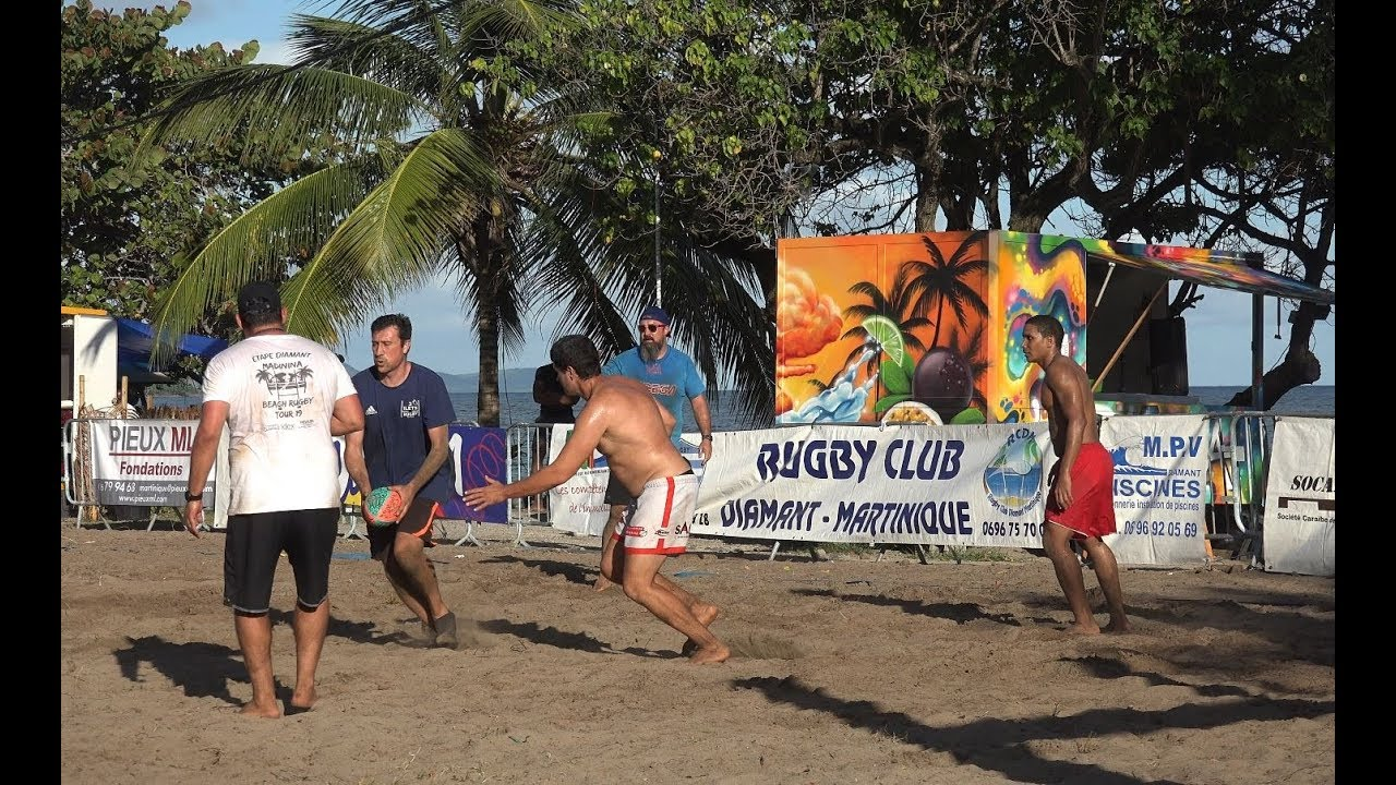 BEACH RUGBY TOUR 2019 -Martinique-4K