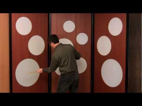 Drum Wall Room Divider