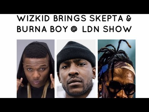 Wizkid brings out Burna Boy & Skepta @ His Free #SFTOS Album launch!!!