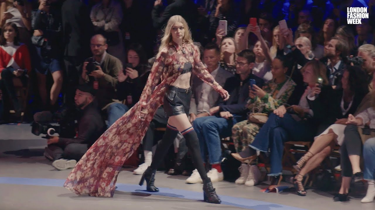 Highlights From London Fashion Week September 2017 Youtube
