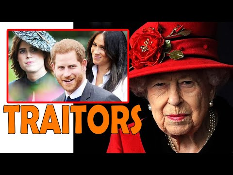 Eugenie follows Meghan and Harry declaring war on the royal family: Traitors!