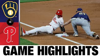Brewers vs. Phillies Full Game Highlights (5/4/21) | MLB Highlights