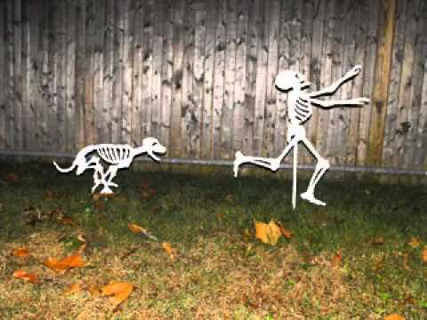 simple diy halloween yard decorations ideas - Halloween Yard Decorating Ideas