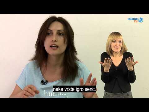 Projekt »SignArts« gluhim najstnikom približuje umetnost