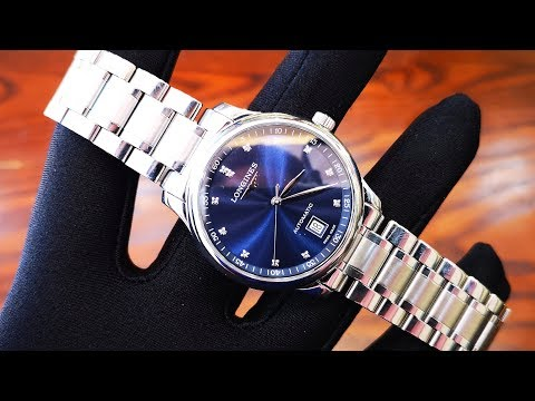 [Review Đồng Hồ] Longines Master Collection Diamond Date Blue Dial L2.628.4.97.6 | ICS Authentic